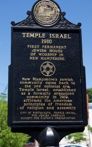 Temple of Israel Historic Marker