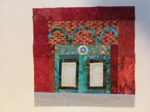 synagogue quilt square