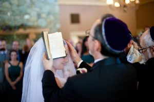 Father Blessing a Bride