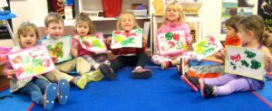 Early Learning Center - Kids with Paintings