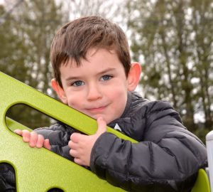 Kid on Playground