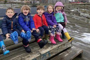Children at Prescott park