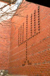 Brick Menorah