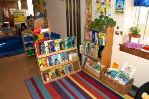 preschool bookshelves