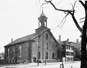 Old Photo of Temple Israel of Portsmouth