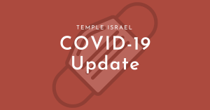 TIP Covid-19 Update graphic with mask