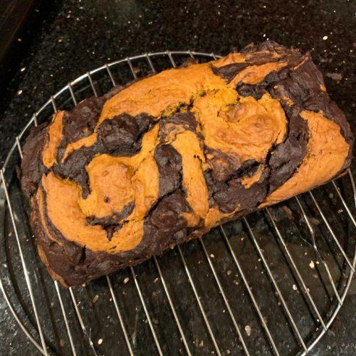pumpkin marble bread BS