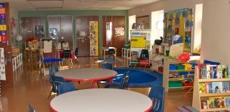 empty school classroom
