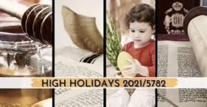 High Holidays 2021/5782