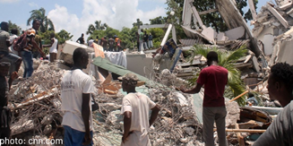 Haiti earthquake image